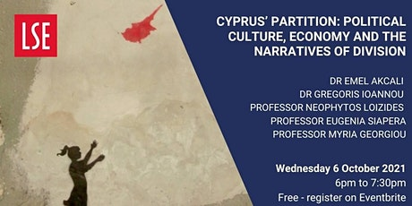 Cyprus' partition: Political culture, economy, & the narratives of division tickets