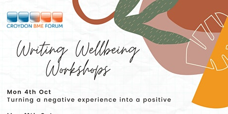 Writing Wellbeing - Being present in the moment tickets