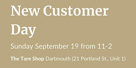 New Customer Day - Dartmouth tickets