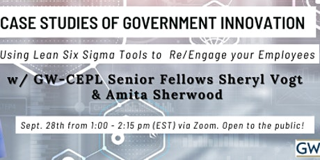 Case Studies of Government Innovation tickets