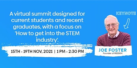 The Stepping into STEM Virtual Summit tickets
