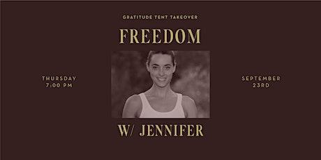 Freedom with Jennifer Partridge boletos