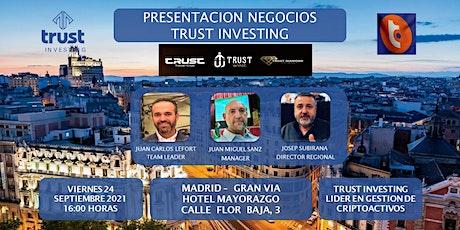 EVENTO  TRUST INVESTING MADRID entradas