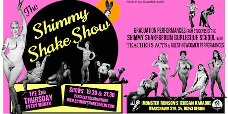 EARLY Shimmy Shake Show tickets