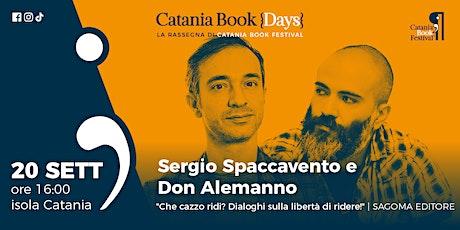 Presentazione libro: Sergio Spaccavento e Don Alemanno biglietti