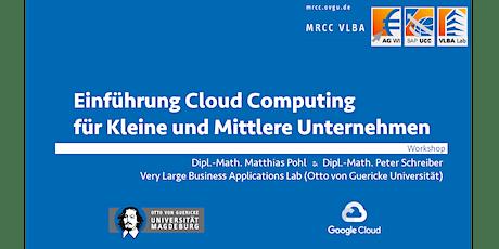 Einführung Cloud Computing - Workshop für KMU tickets