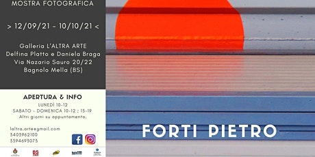 MOSTRA FOTOGRAFICA: FORTI PIETRO tickets