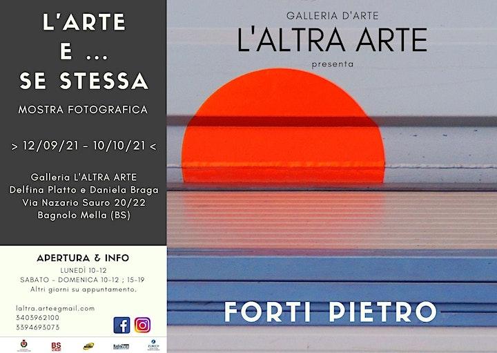 Immagine MOSTRA FOTOGRAFICA: FORTI PIETRO