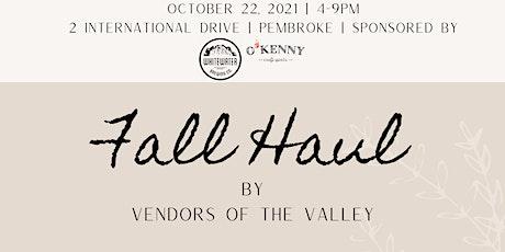 Fall Haul Market tickets