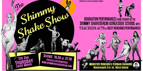 LATE  Shimmy Shake Show Tickets