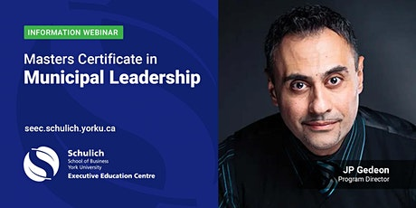 Masters Certificate in Municipal Leadership tickets