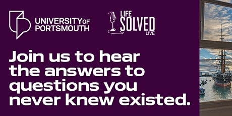 Life Solved Live:  Sex Changing Sea Life tickets