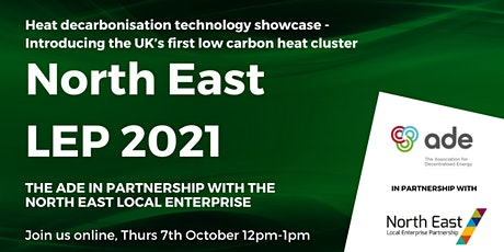 Technology showcase  - 'Decarbonising heat' across the Northeast tickets