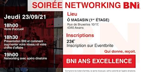 Soirée Networking BNI tickets