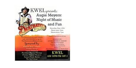 KWEL presents: AUGIE MEYERS tickets
