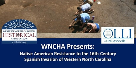 WNCHA Presents: Native American Resistance to 16th-Century Spanish Invasion tickets