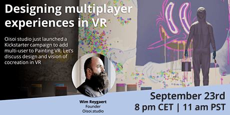 Designing multiplayer experiences in VR tickets