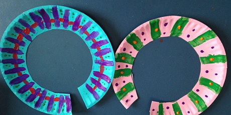 Create colourful African necklaces for Black History Season tickets