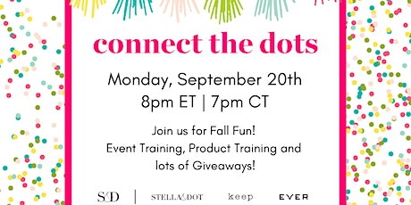 Connect the Dots Virtual Stella & Dot Event tickets