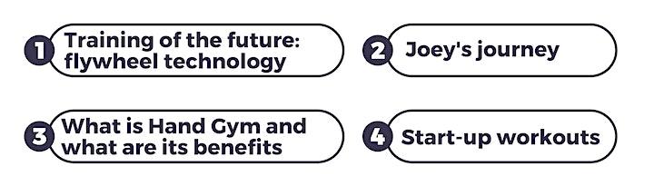 Meet Handy Gym: The new future exercise training (UK residents) image