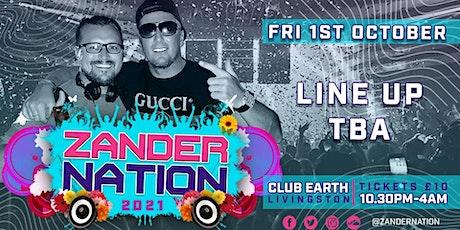 Zander Nation ( Livingston club Earth ) tickets