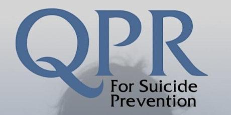 QPR Suicide Gatekeeper Training tickets