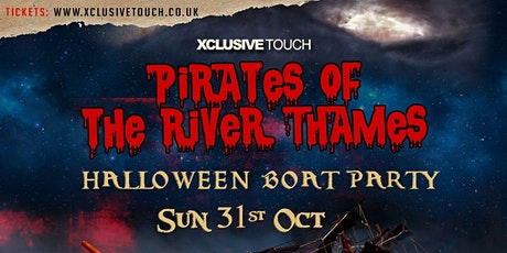 Pirates of the River Thames Halloween Boat Party tickets