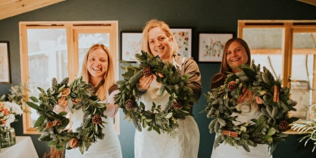 Wreath making with The Flower Hut Bristol for Claire tickets
