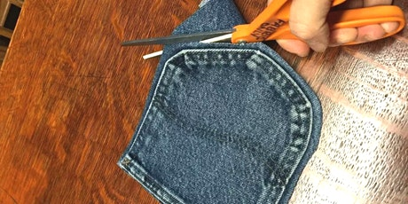 Learn How to Sew New Items Using Old Denim tickets
