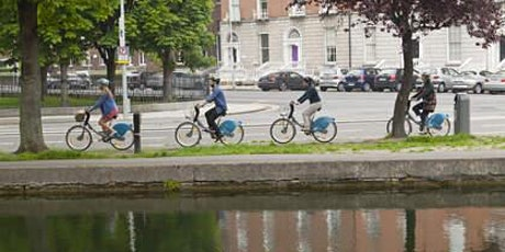 Discover the Docklands and Grand Canal by Bike tickets