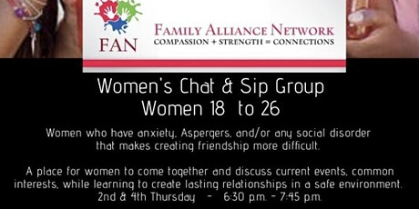 Chat and Sip Group tickets