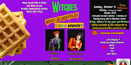 Witches Wigs & Waffles Halloween Drag Brunch tickets