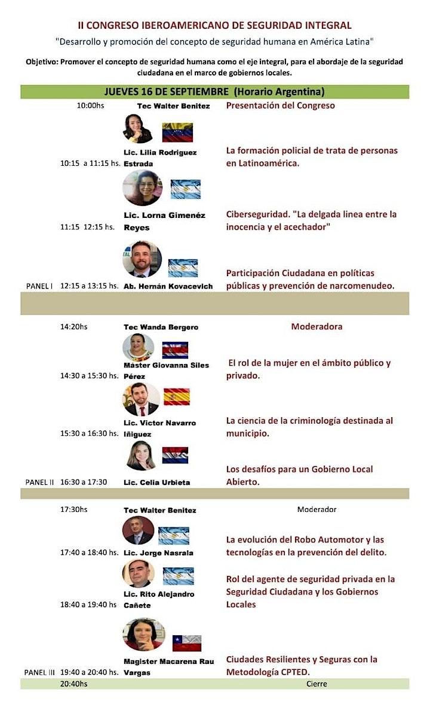 Imagen de II CONGRESO IBEROAMERICANO SEGURIDAD INTEGRAL