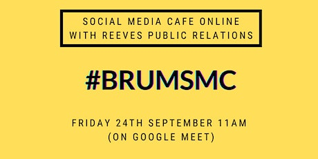 Birmingham Social Media Cafe Online with Reeves Public Relations tickets
