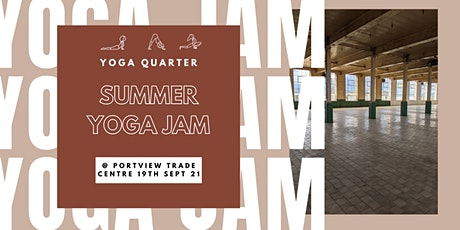 Yoga Quarter Summer Yoga Jam tickets
