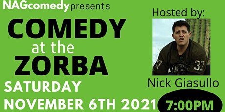 Comedy at the Zorba! tickets