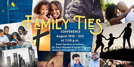 Family Ties Conference tickets