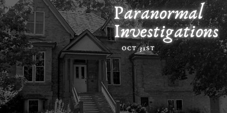 Hallows Eve - Paranormal Investigating tickets