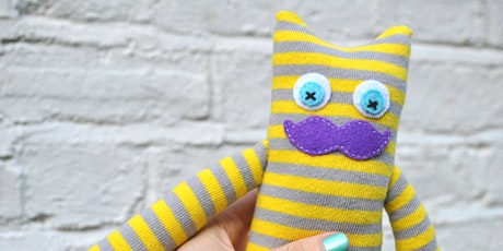 Sock Monsters!  (adult free with a child) tickets