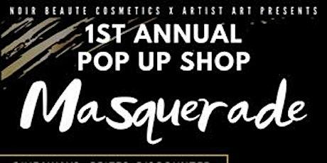 Masquerade Pop Up Shop tickets