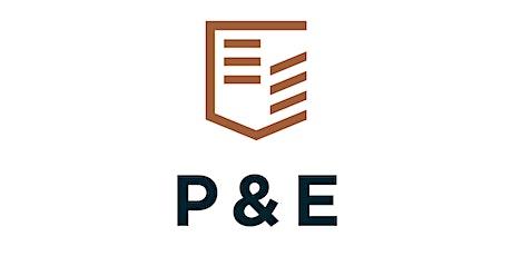 P&E - Thursday, November 4 tickets