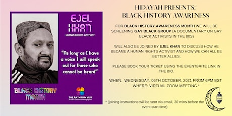 Hidayah's Black History Awareness Month:  Film Screening & Discussion tickets