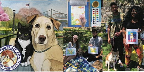 Pet Portrait FUN- Dog Picnic- Carl Schurz Dog Run New York tickets