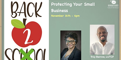Back to Business Fall Series:  Protecting Your Business tickets