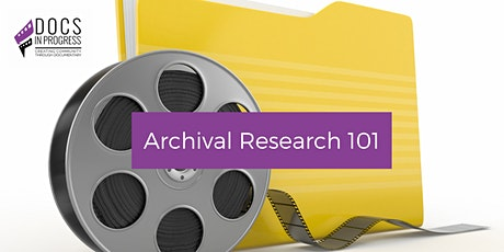 Archival Research 101 tickets