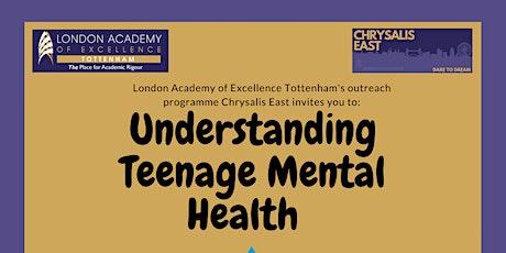 Understanding Adolescent Mental Health tickets