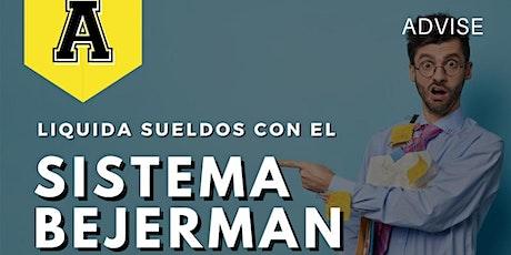 Liquidación de sueldos con sistema Bejerman entradas
