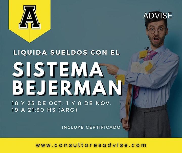 Imagen de Liquidación de sueldos con sistema Bejerman