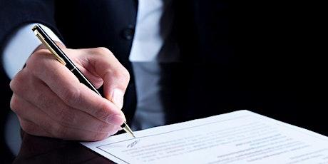Curso de Gestão de Contratos Empresariais tickets