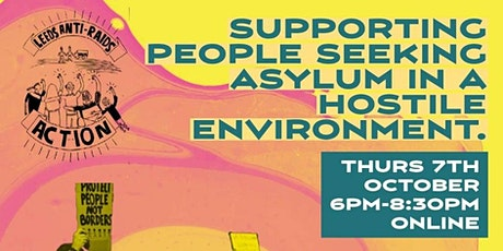 Supporting People Seeking Asylum in a Hostile Environment tickets